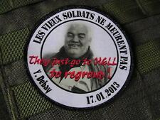 SNAKE PATCH - Yves DEBAY alep Syrie 2013 - Assaut RAIDS mercenaire PRESSE