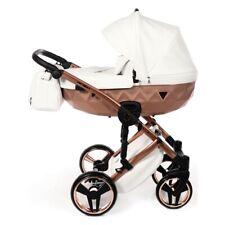 Carro bebé Junama Diamond Satin 2en1 3en1 4en1 opcionalme ISOFIX BBtwin