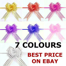 10 pcs 30MM Ribbon Wedding Flower Pull Bows Birthday Party Present Gift Deco
