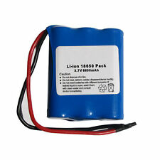 10-Pack 3.7 Volt Lithium Ion Battery Packs (6600 mAh) with Protection IC