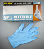 Nitrile Gloves 100 XL 5mil Disposable Latex & Powder Free New FAST FREE SHIP