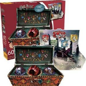 Harry Potter Quidditch Set 2-sided Shaped 600piece Jigsaw Puzzle