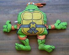 Vintage Teenage Mutant Ninja Turtles TMNT MICHELANGELO Pillow Pal Mirage 1990