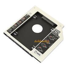 """2.5"""" /9.5mm (SATA) 2ND HDD Caddy For DELL Latitude E6400 E6500 E6410 E6510 E4300"""