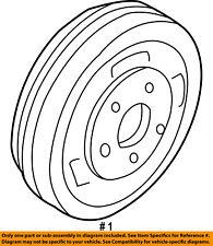 FORD OEM Rear Brakes-Brake Drum 2U2Z1V126C
