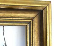 VINTAGE WOOD GILDED FRAME FOR PAINTING 16 X 12 INCH (e-10)