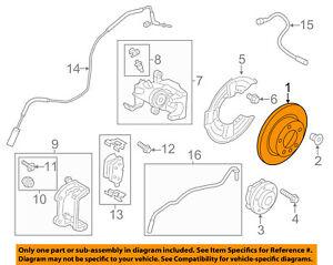 MINI OEM 11-16 Cooper Countryman Rear Brake-Rotor 34219811539