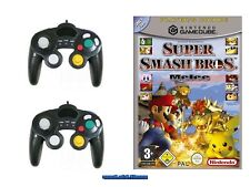 ## Super Smash Bros. Melee (deutsch) + 2 Control Pads Nintendo GameCube - TOP ##