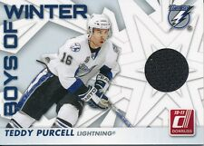 2010/11 Panini Donruss #35 Teddy Purcell Boys of Winter Jersey Insert
