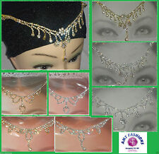 Acrylic Alloy Costume Hair & Head Jewellery