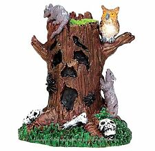Lemax 44741 SPOOKY TREE STUMP Spooky Town Accessories Halloween Decor I