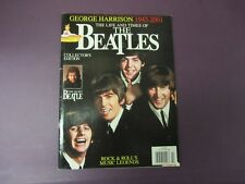 The LIFE and TIMES of the BEATLES  Magazine 2002 George Harrison 1943-2001