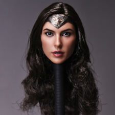 "Wonder Woman 1/6 Gal Gadot Female Head Sculpt F12"" Phicen Body Figure Hot Toys"