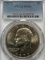 1973-P  Eisenhower Ike Dollars PCGS MS65