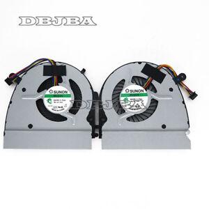 CPU + GPU Fan For DELL VOSTRO 5460 V5460 V5470 5470 V5480 5480 14z-3526 14-5439