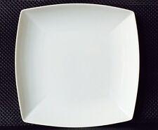 Placa plana Medio plato hondo para filetes Bandeja 29cmx29cm Porcelana dura