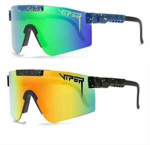 Pit Viper Polarized Cycling Sunglasses Sport Goggles for Men/Women UV400 Outdoor