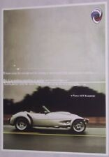 2000  Panoz  AIV Roadster  original sales brochure MINT