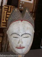 "ancien masque africain "" Danseur Baloumbou"". oldAfrican mask "" Baloumbou dancer"""