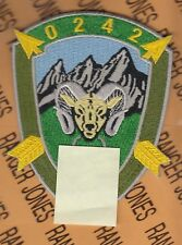 US Army 10th Special Forces Group Airborne ODA 0242 pocket patch