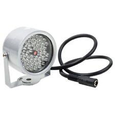 48 LED IR Infrarot Scheinwerfer Nachtsicht ueberwachungskamera CCTV DC12V B W2V2