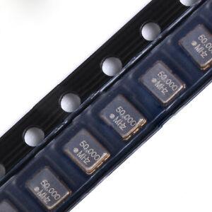 1PCS 5070 SMD Active Quartz Crystal Oscillator Resonator 5*7mm 4P 50MHZ 50.000M