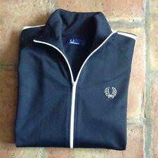 Fred Perry Men's Zip Track Top Size Large