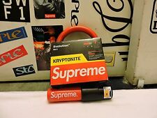SUPREME Kryptonite FW15 U-Lock Box Logo Mini U Bike Lock Bicycles Bicycle