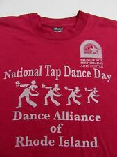 Vintage PROVIDENCE PERFOMING ARTS CTR. National Tap Dance Day T Shirt Sz L