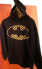 BATMAN logo kids sweatshirt Dark Knight ska hoodie DC Comics youth lrg GAP taxi