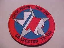 U.S. Coast Guard Ship Papaw Wlb 308 Galveston Texas Patch