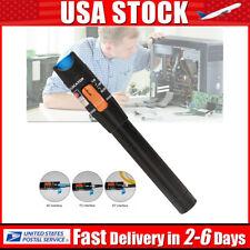 Visual Fault Locator Fiber Optic Cable Laser 650nm Vfl Tester Test Equipment Us