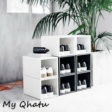 Ikea SPANST Shoe Box - CHRIS STAMPD Limited Collection - BLACK / WHITE NEW