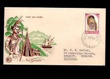 Papua & New Guinea Port Moresby 1st Day 1964 Tribal Mask 11d Cover 5l