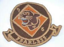 PANTHER FEARLESS 96 ARMY UNIT  Embroidered Sew On Cloth Patch Badge APPLIQUE