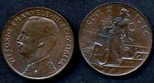 2  Centesimi 1916  conservazione SPL