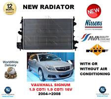 für Opel Signum 1.9 CDTI 16V mit oder ohne Klimaanlage 2004- > 2008 NEU Kühler