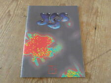 "Yes: ""Union"" Tour Book w/Japan Insert (jon anderson rick wakeman no mini-lp cd Q"