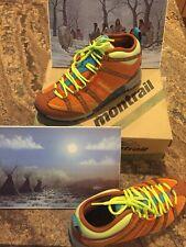Women's  Montrail Mountain Masochist Mid Shoes NEW Size 7 Orange/Copper/Yellow