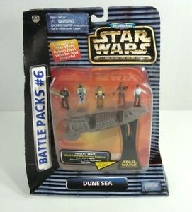 1996 Star Wars Action Fleet Battle Pack #6 DUNE SEA Galoob BRAND NEW SEALED
