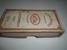 Ancienne boîte de coton à broder à la croix Cartier Bresson