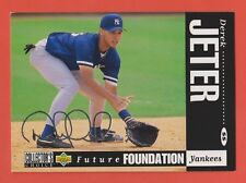 1994 Collector's Choice Silver Signature WHITE LETTER Derek Jeter #644 WOW (KCR)