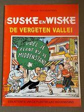Suske en Wiske Reclame uitgave  - De vergeten vallei - Eerste druk - 1989