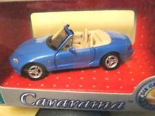 CARARAMA 1/43 scale MAZDA MX-5 BLUE  OPEN TOP R.H.D.  MINT/BOXED