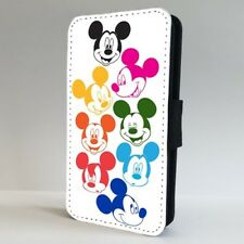 Mickey Mouse Colourful Disney FLIP PHONE CASE COVER for IPHONE SAMSUNG