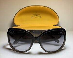 VIVIENNE WESTWOOD Sunglasses VW846S01 Black Fade w/ Gradient Grey Lenses