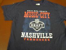 NFL Football  Draft 2019 Nashville Tennessee  Team Apparel Medium   L24