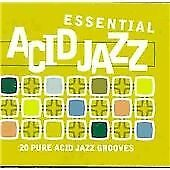 Various Artists - Essential Acid Jazz ( 2 CD 1998) Old Style Fat Box Case