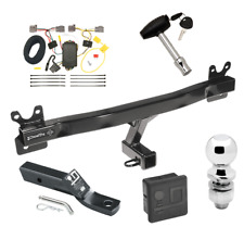 """Trailer Tow Hitch For 08-10 Volvo V70 Wagon Deluxe Package Wiring 2"""" Ball & Lock"""