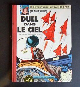 """E.O. toilé  lombard """"Duel dans le ciel"""" dan Cooper de Weinberg 1962"""